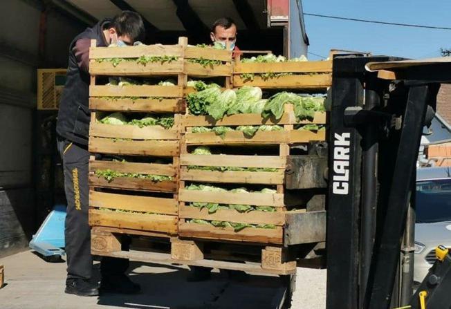 Slavonci poslali 3,5 tona hrane