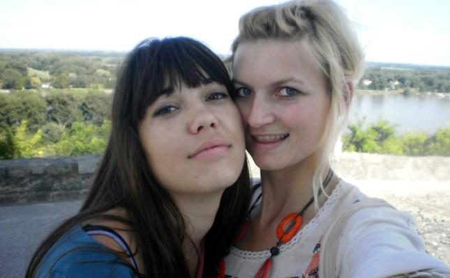 Biljana Smolčić (lijevo), s prijateljicom Nevenom Živić