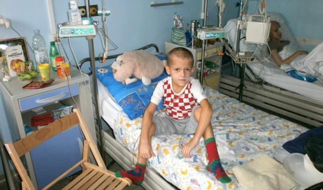 Osmogodišnji Mladen bori se s tumorom na mozgu