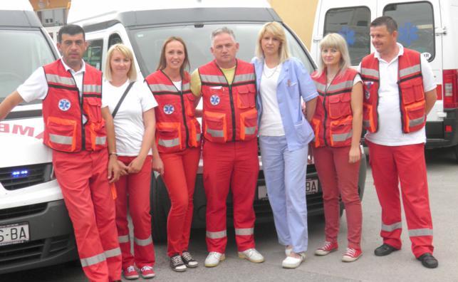Heroji u sanitetskom prijevozu