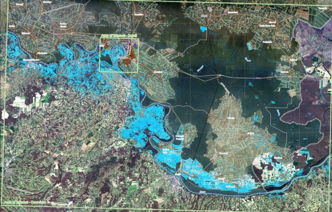 Za utvrđivanju šteta od poplava uzet će se i satelitske snimke od 25. svibnja