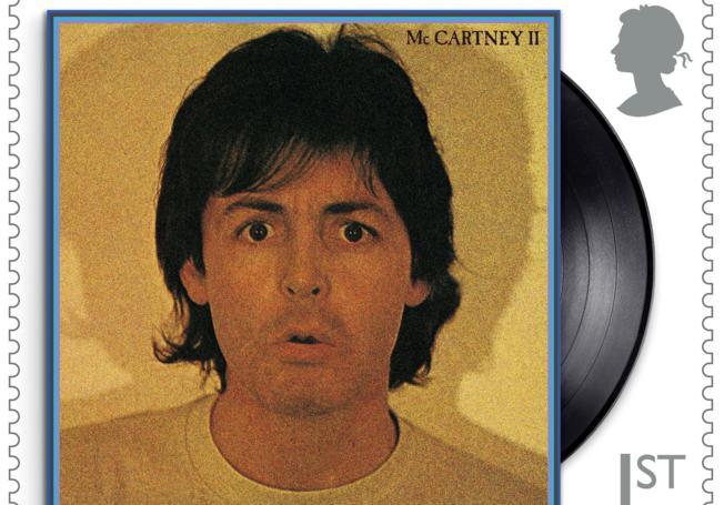 Paul McCartney na setu prigodnih poštanskih maraka