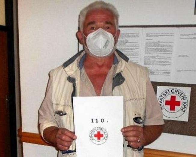 Ranko Popović 110. put darovao krv